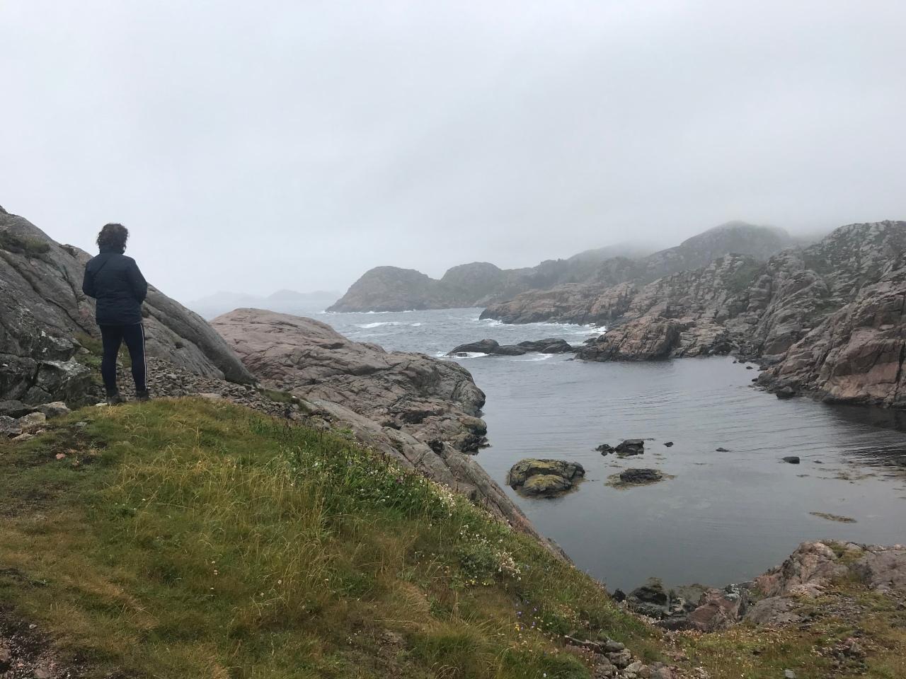 De overtocht naar KristiansandNoorwegen